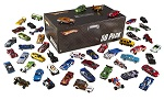 Hot Wheels Basic Car 50-Pack with Storage Box