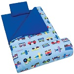 Olive Kids Trains, Planes & Trucks Sleeping Bag